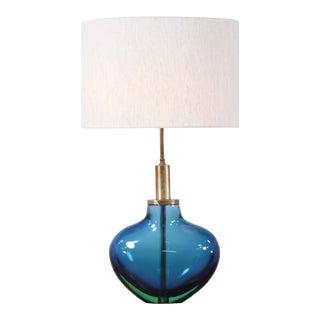 Flavio Poli Sommerso Murano Table Lamp for Seguso For Sale
