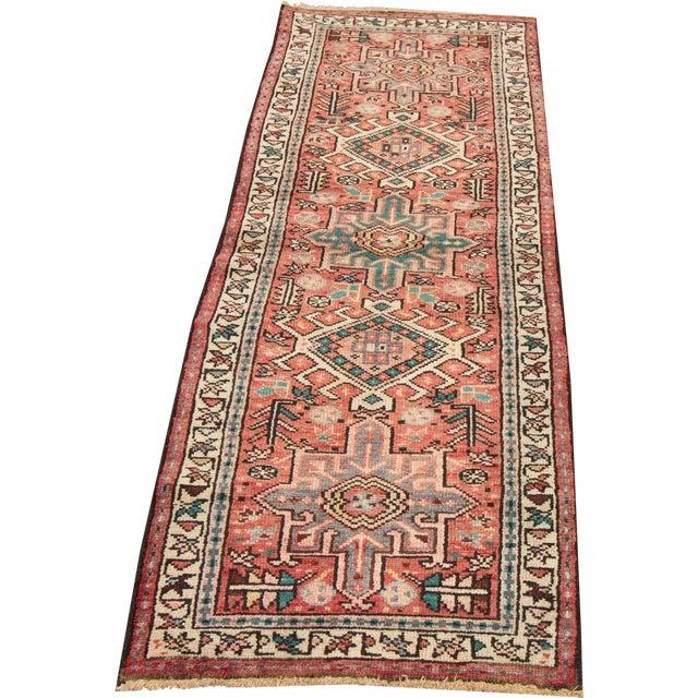 Apadana - Vintage Persian Heriz Rug, 2' x 5' - Image 1 of 5