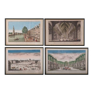 18th Century French Prints - Set of 4 For Sale