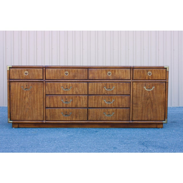 Drexel Accolade 10-drawer dresser. Impressive ten-drawer solid wood dresser by Drexel for their Accolade collection....