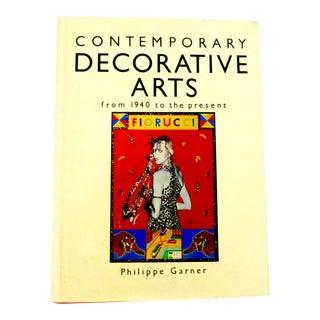 Contemporary Decorative Arts 1940 -1980 Book For Sale