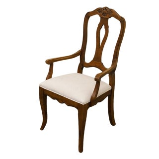 Ethan Allen Country French Collection Dining Armchair For Sale