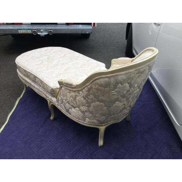 French Painted Chaise - Image 6 of 6