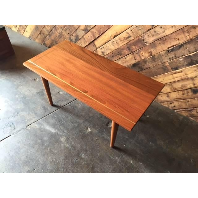 Hand Made Mid-Century Style Coffee Table - Image 3 of 6
