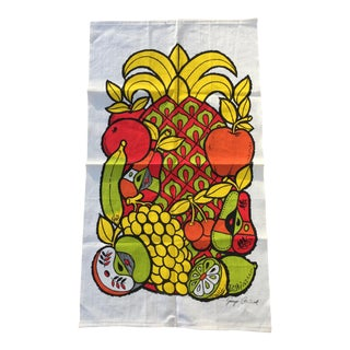 Georges Briard Screen Print Wall Hanging For Sale