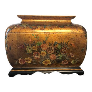 Castilian Imports Ornate Bronze Storage Box