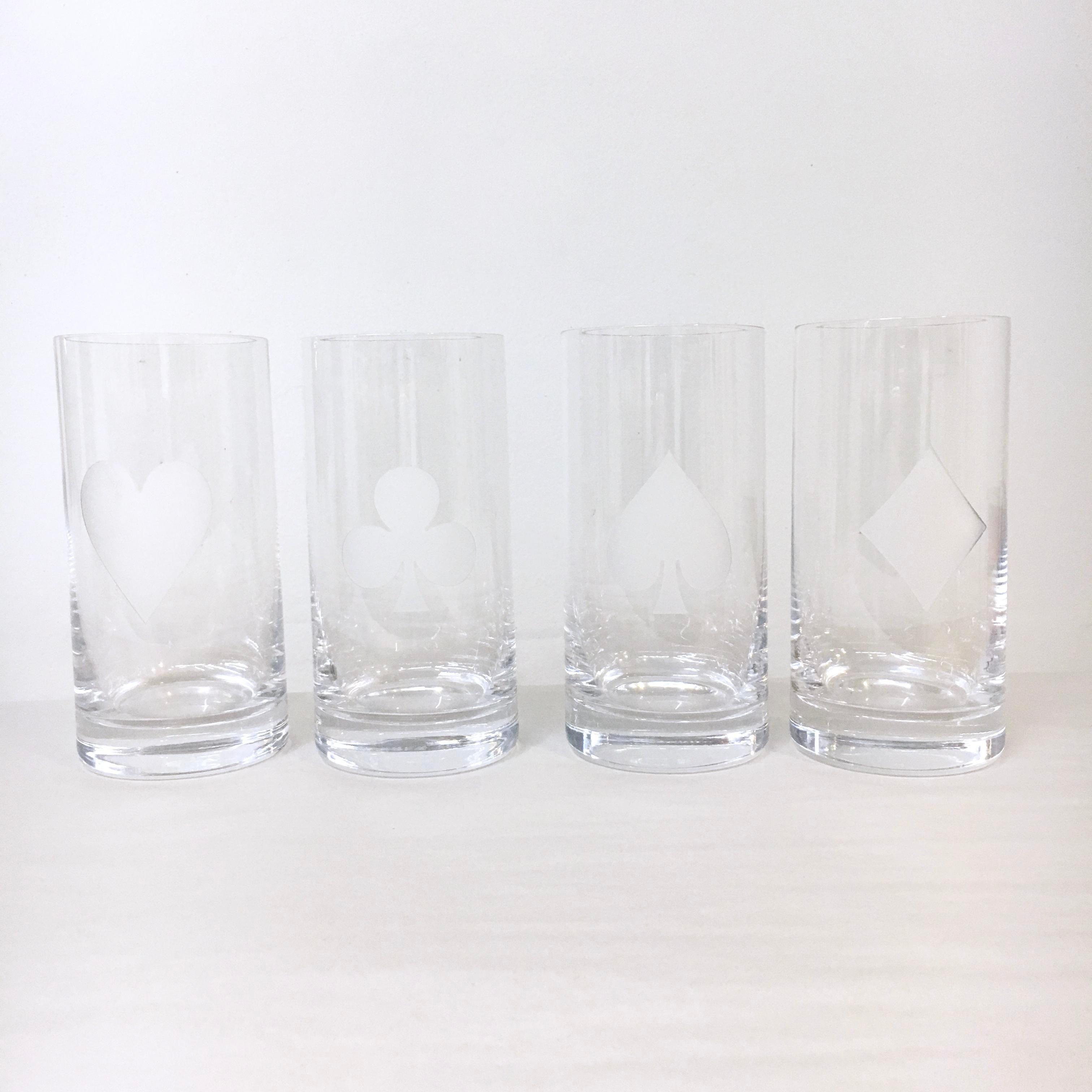Kate Spade U0027Gin Rummyu0027 Crystal Barware   Set Of 8   Image ...