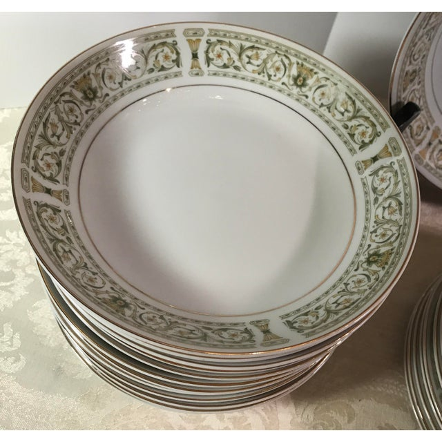 "Mid-Century Daniele ""Felicity"" China - Set of 27 For Sale In Dallas - Image 6 of 11"