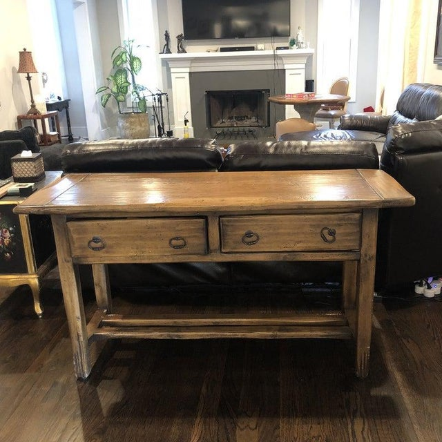 Sofa Table - Solid Wood For Sale - Image 12 of 12