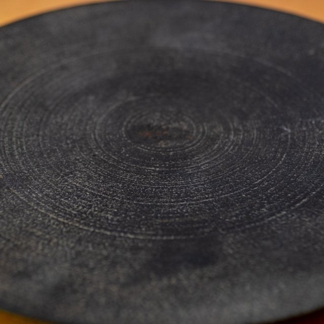 Mid 20th Century Modernist Japanese Tetsubin Low Iron Bowl, 1960s For Sale - Image 5 of 8