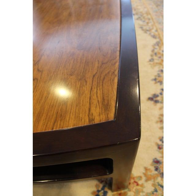 Mid-Century Modern Wormley for Dunbar Rare Mahogany Rectangular Coffee Table For Sale - Image 11 of 13