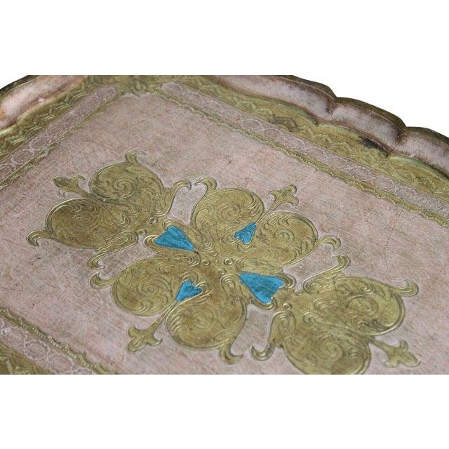 Italian Florentine Tray - Image 2 of 2