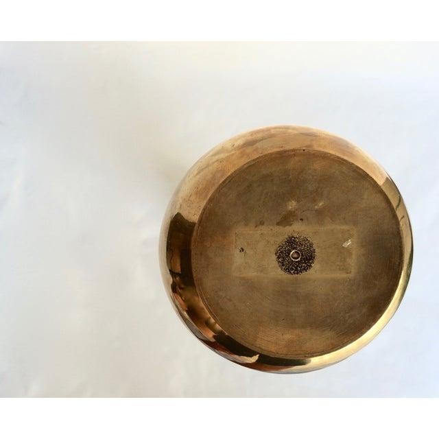 Mid-Century Modern Brass Vase - Image 5 of 5