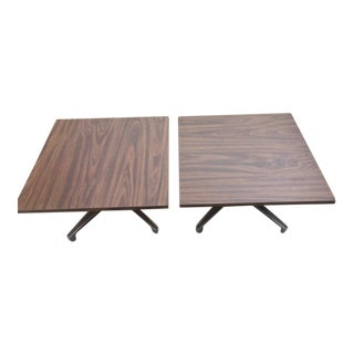 Chromcraft Side Tables - A Pair For Sale