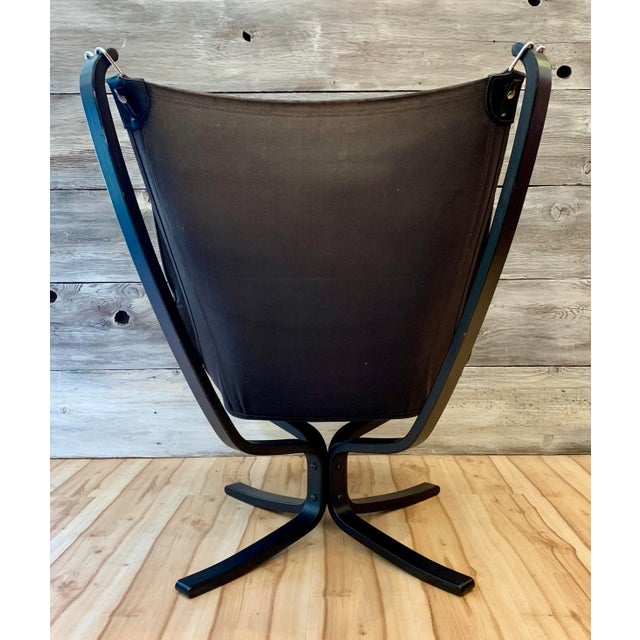 1960s Sigurd Ressell Highback Falcon Lounge Chairs - a Pair For Sale In Sacramento - Image 6 of 13