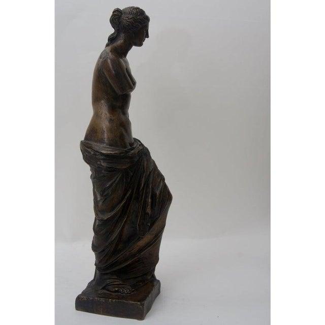 Antique F. Barbedienne Venus De Milo Bronze Sculpture For Sale In West Palm - Image 6 of 11