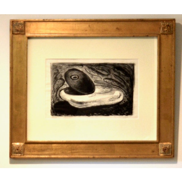 1950s Emerson Woelffer Graphite on Paper, 'Rock Formation' C 1950s For Sale - Image 5 of 6