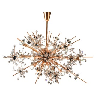 """Metropolitan"" Chandelier in Patina Finish by Hans Harald Rath For Sale"
