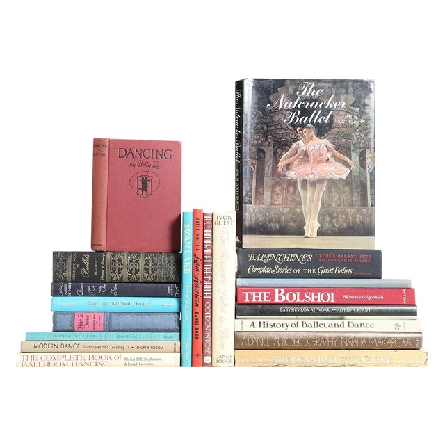 Rhythmic Movement Collection - Set of Twenty Decorative Books For Sale