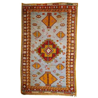 1910 Moroccan Berber Rug - 4′9″ × 7′9″ For Sale