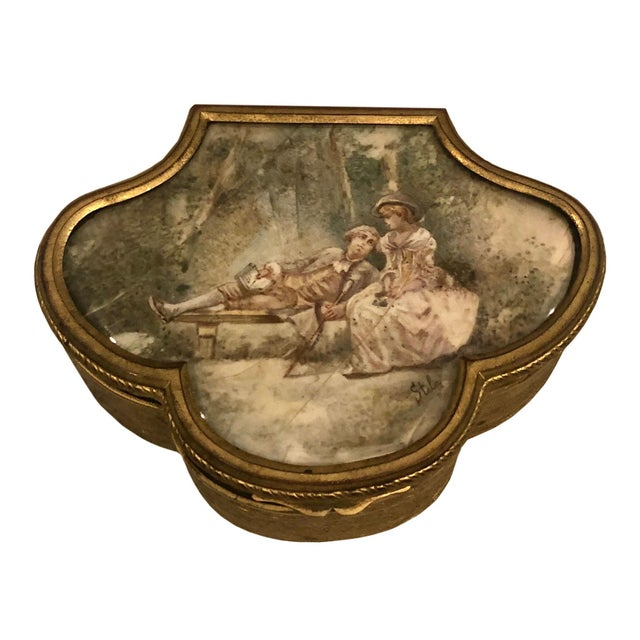 Late 19th Century French Neoclassical Bronze Ormolu Box For Sale - Image 4 of 8