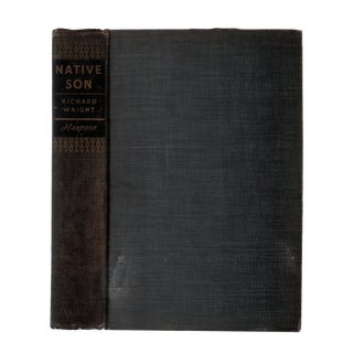 "1940 ""Native Son"" Collectible Book For Sale"