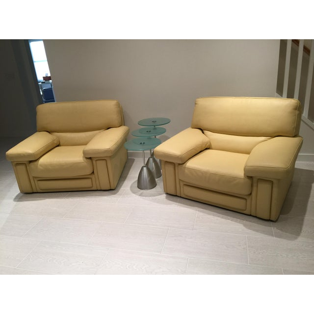 Roche Bobois Club Chairs - a Pair For Sale In New York - Image 6 of 7