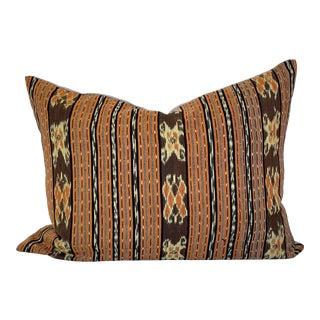 Ikat Vintage Textile Pillow