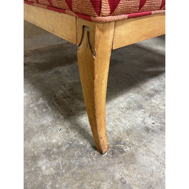 Wood Whimsical Avant Garde Tall Back Chairs- a Pair For Sale - Image 7 of 12