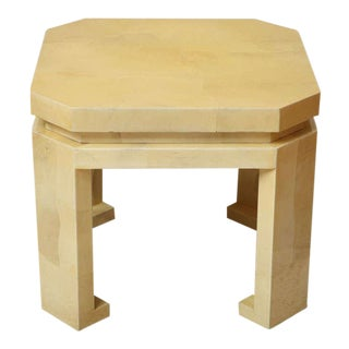 Asian -Style Parchment Table