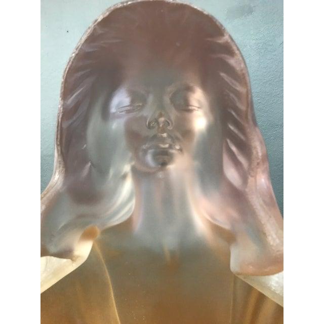 Marc Sijan Rare Vintage Lucite Art Deco Sculpture For Sale - Image 5 of 9