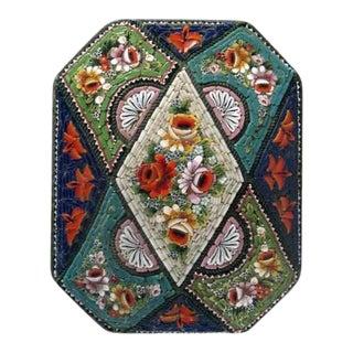 19th Century Micro Mosaic Box For Sale