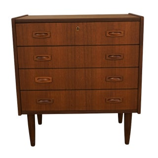 Original Danish MOdern Low Boy Dresser - Kanin For Sale