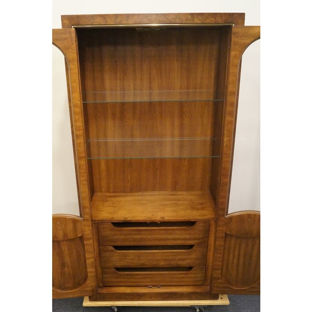 Mid Century Modern Weiman Lighted Display Cabinet/Wall Unit For Sale In Kansas City - Image 6 of 13