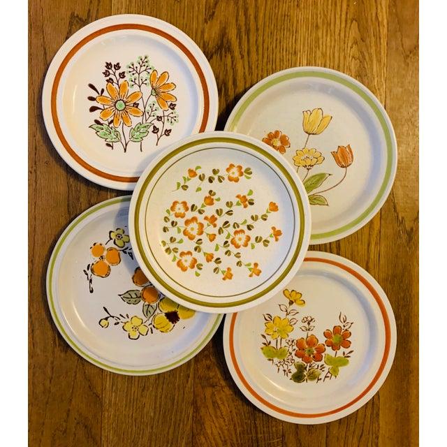 Vintage Country Mismatched Salad Plates - Set of 5 For Sale - Image 12 of 12