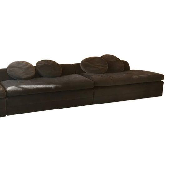 Sensational Custom Three Piece Sectional Sofa In Gray Mohair Ibusinesslaw Wood Chair Design Ideas Ibusinesslaworg