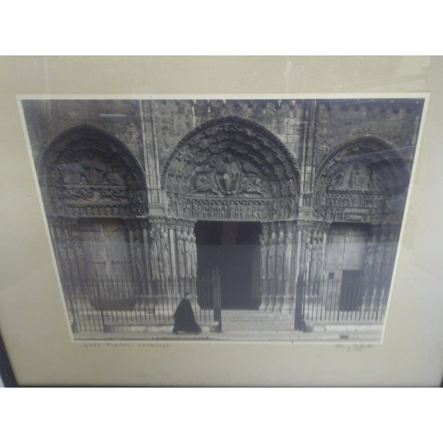 """""""West Portal - Chartres"""", by Harry T. Scott - Image 3 of 6"""