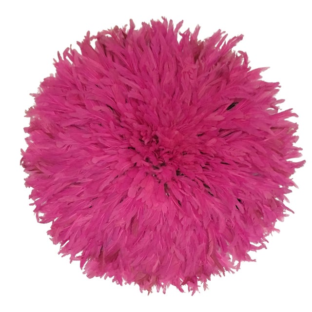 Cameroon Hot Pink Juju Hat - Image 1 of 3