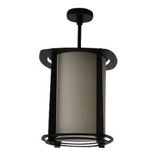 Boyd Premier 4-Fin Exterior Lantern in Black Granite