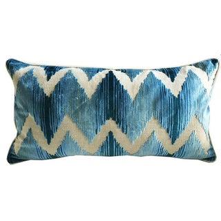 Lee Jofa Belgium Velvet Lumbar Pillows - A Pair