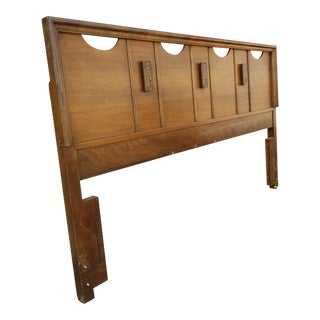 1960s Mid Century Mayan Full Size Headboard For Sale