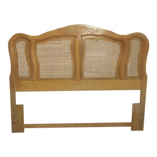 French Provincial Queen Size Headboard For Sale