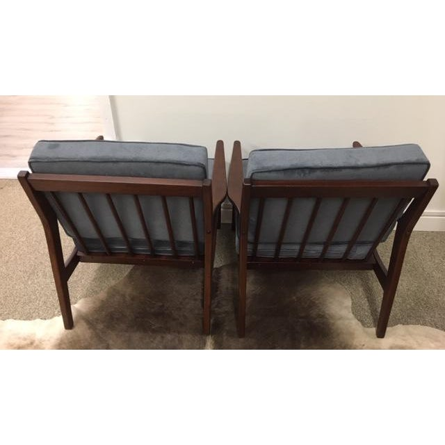 Mid Century Modern Arm Chairs For Sale - Image 4 of 6