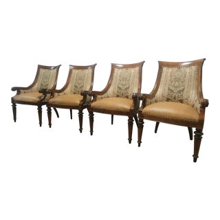 Thomasville Furniture Ernest Hemingway Marcialano Dining Chair-Set of 4 For Sale