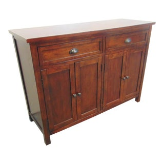 Mahogany Country Style Sideboard For Sale