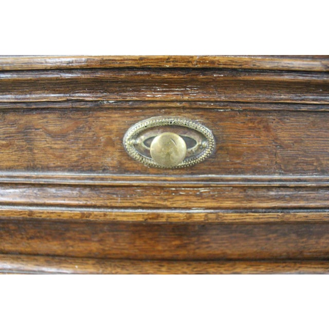 Glass Early 19th Century Antique French Glass Door Sideboard For Sale - Image 7 of 8