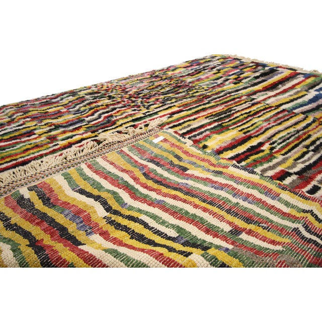 2010s Contemporary Berber Moroccan Rug - 9′2″ × 12′6″ For Sale - Image 5 of 7