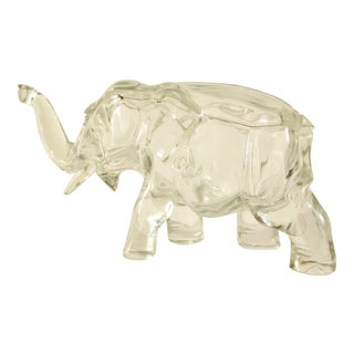 Elephant Shaped Decorative Jar For Sale