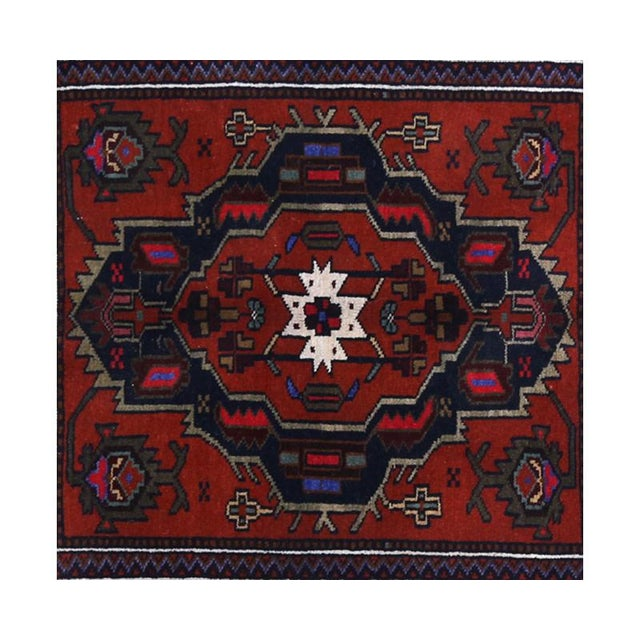 Persian Handwoven Ghochan Tribal Wool Rug - 3x5 For Sale - Image 4 of 5