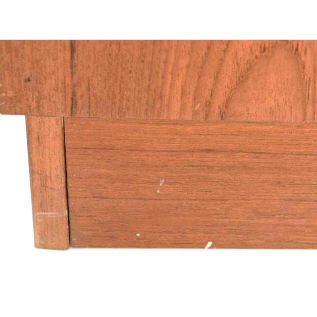 Brown Mid-20th Century Danish Modern Teak Bookcase by Poul Hundevad For Sale - Image 8 of 10